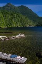 Swimming in Lake Unwin