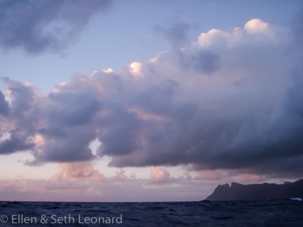 Dawn Landfall, St Helena