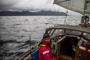 Landfall on Haida Gwaii aboard Celeste