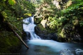 Hidden waterfall, Kenai Peninsula