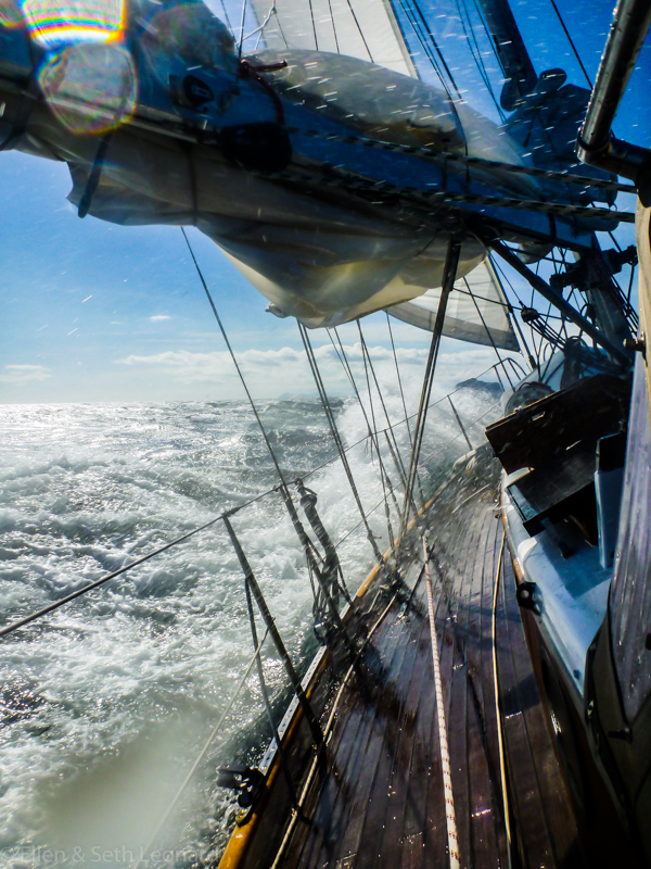 Serious wind, Alaska Peninsula