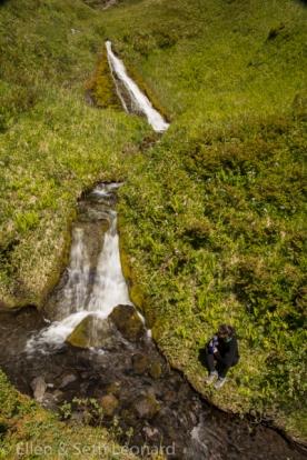 Ellen and Waterfall