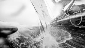 Sailing in the Bering Sea