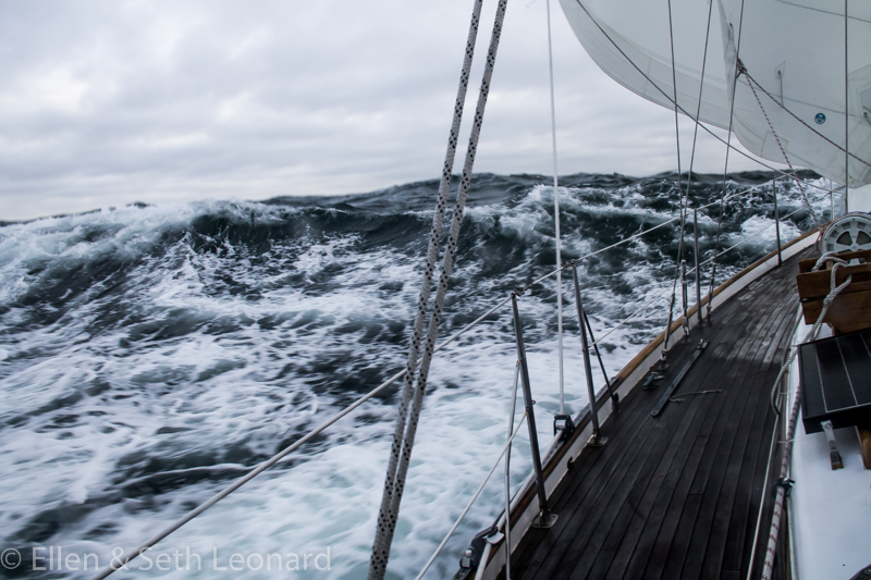 High winds in the Chukchi Sea