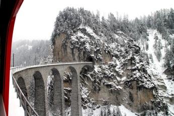 Landwasser Viaduct for the Glacier Express train