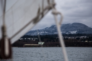 Winter sailing aboard Celeste