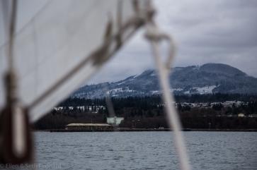 Winter sailing aboard Celeste