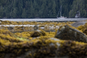 Anchored in northern BC