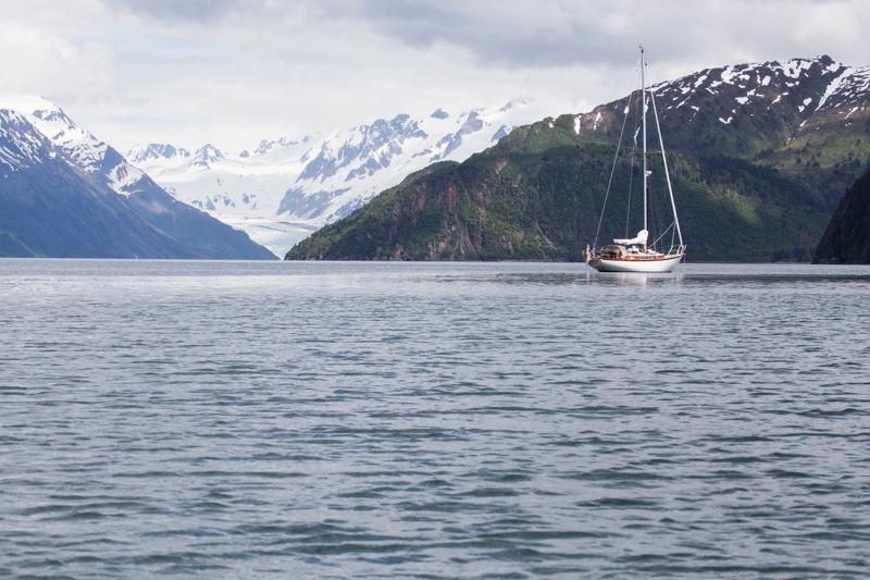 Celeste in Kenai Fjords