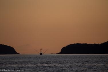 Fishing boat in Cross Sound