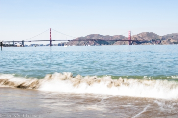 Waves at Crissy Field