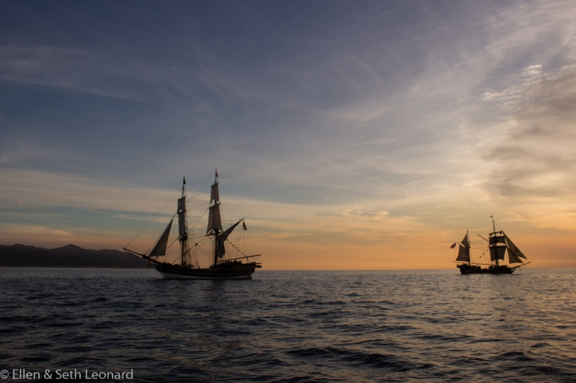 Lady Washington and Hawaiian Chieftan
