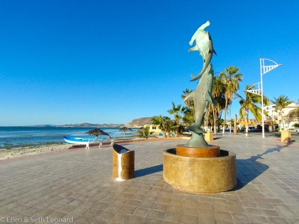 Statue on La Paz Malecon