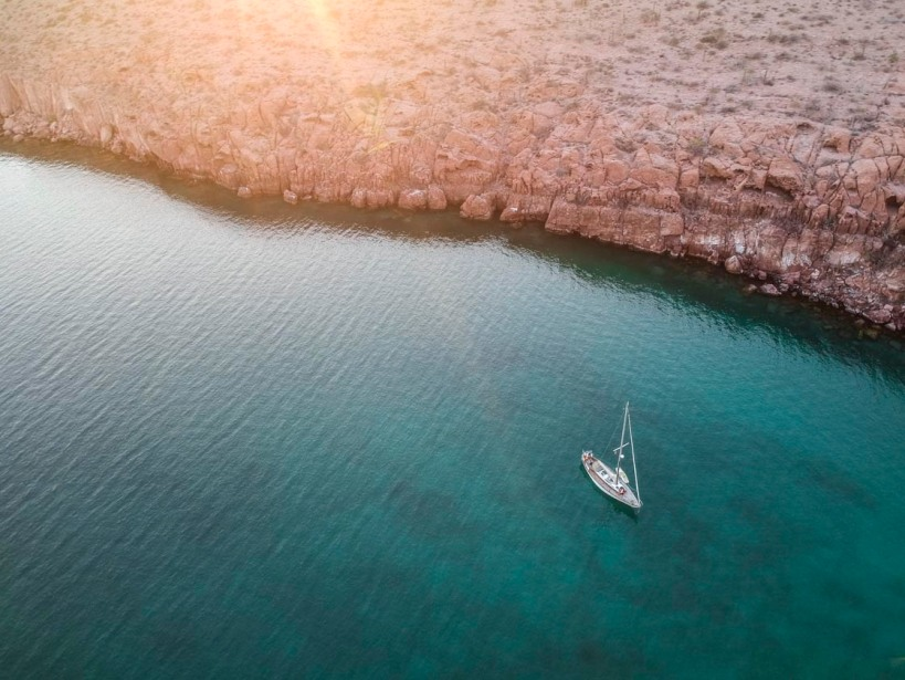 Celeste in Sea of Cortez