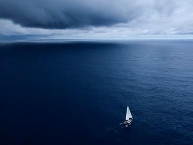 Celeste in mid-Pacific