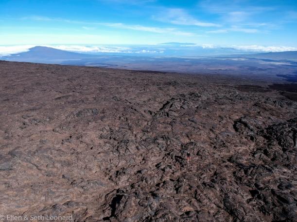 Hiking up Mauna Loa