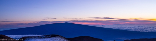 Mauna Loa at sunset