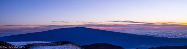 Mauna Loa at sunset
