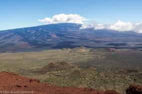 Mauna Loa lava flows