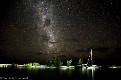 Milky Way over Celeste