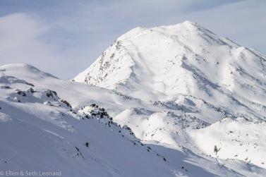 Ski-touring in the Alps